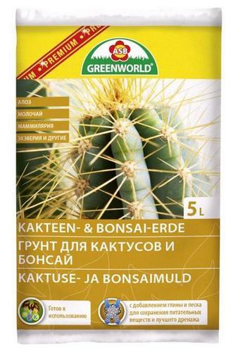 Как неплохой пример подобных грунтов опять используем немецкую фирму Greenworld