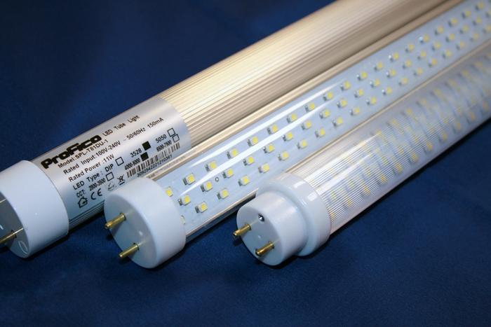 Трубчатые светодиодные лампы