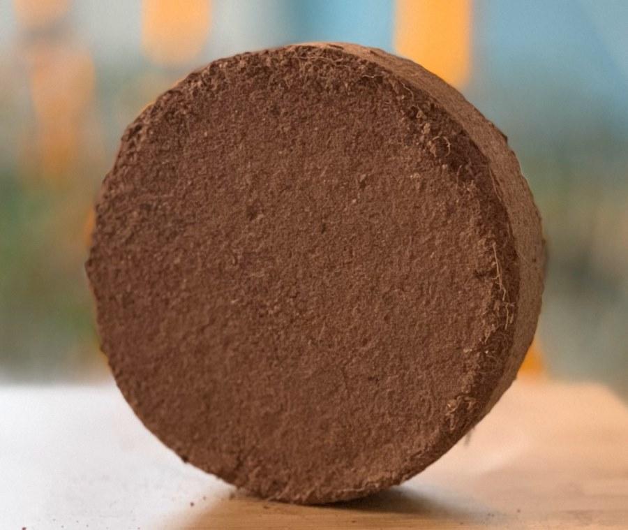 Кокосовый диск d15см